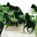 Πράσινα άλογα (Πράσσειν Άλογα)