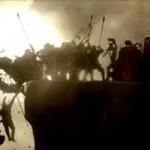 Η Μάχη των Θερμοπυλών . Ο Λεωνίδας και οι 300 .