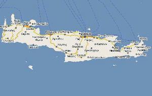 Xarths Krhths Maps Of Crete Krhth Xartis Tis Kritis Xarths
